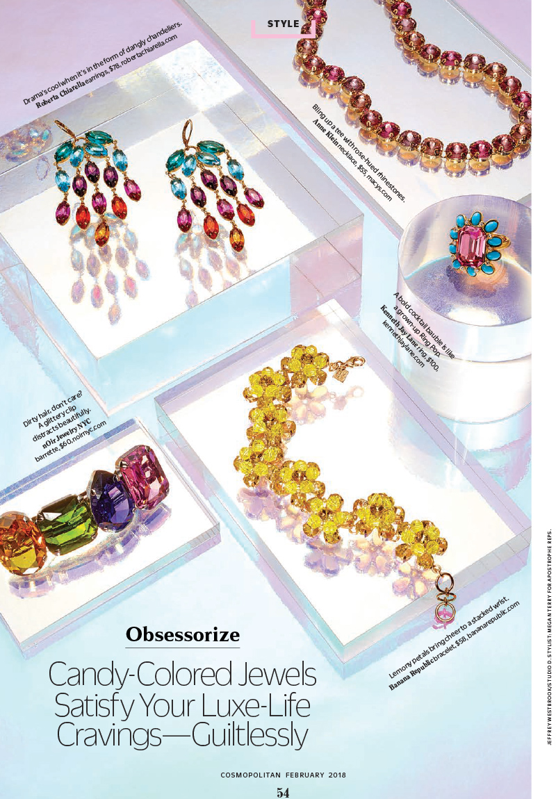 Press Feature in Cosmopolitan featuring The Jewelry Group